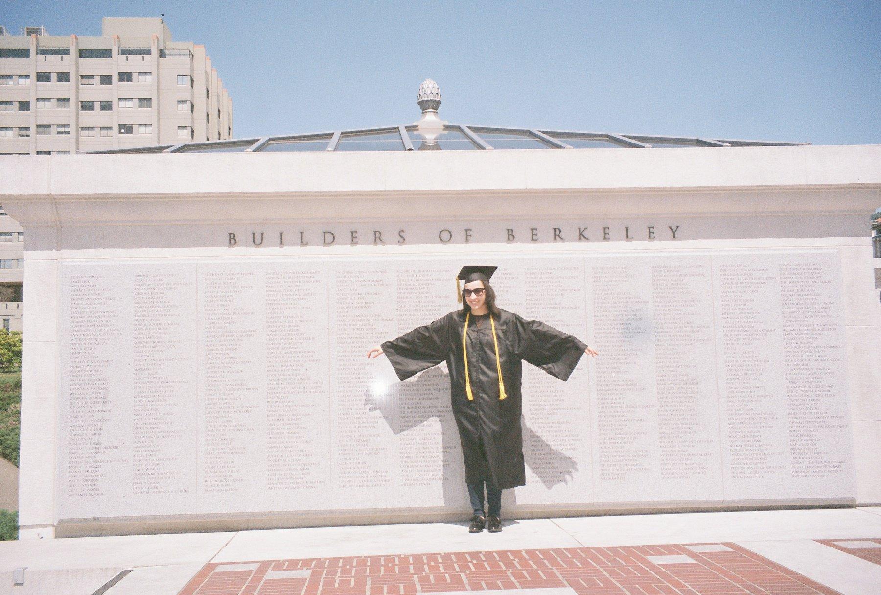 Alex at graduation