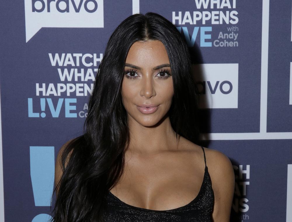"""Kim Kardashian at """"Watch What Happens Live."""""""
