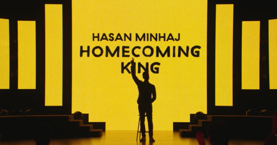 "Hasan Minhaj's Netflix stand-up special ""Homecoming King"""