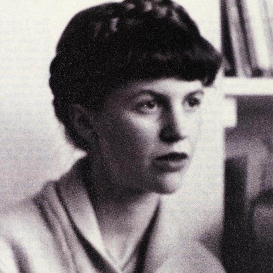 American poet Sylvia Plath
