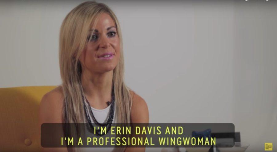 Erin Davis wing woman.