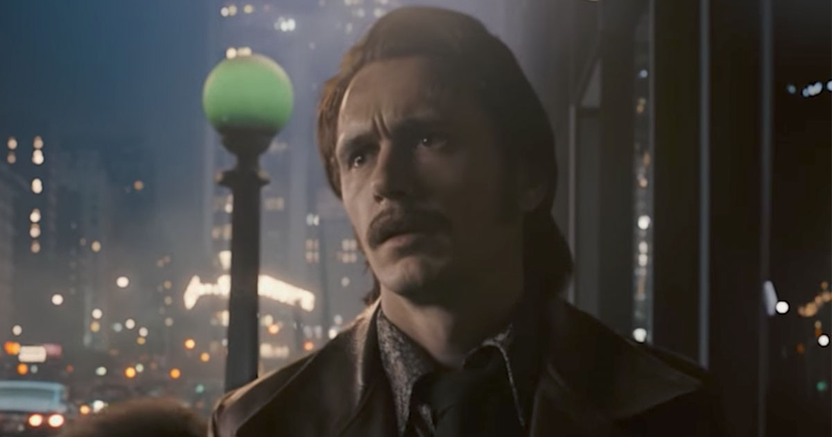 James Franco in the trailer for The Deuce.