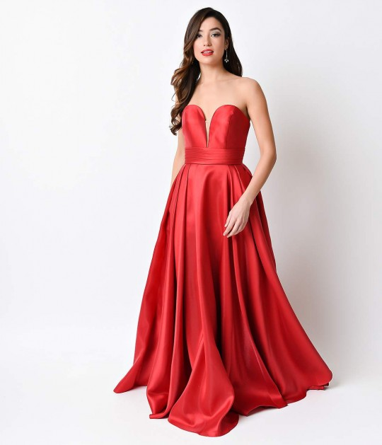 Red_Sweetheart_Strapless_Corset_Back_Long_Gown_4.jpg