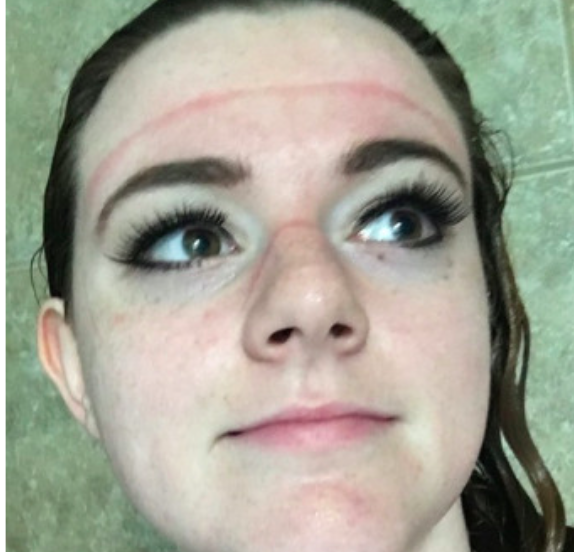 Girl's shower hack keeps makeup looking flawless.