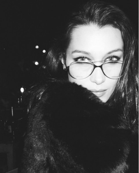 Kendall Jenner took a black and white photo of a friend