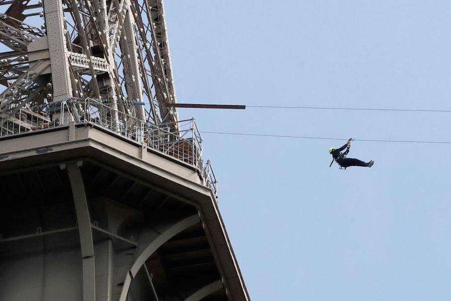 Eiffel Tower zipline