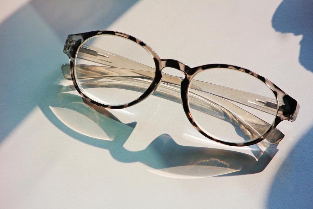 Pair of eye glasses