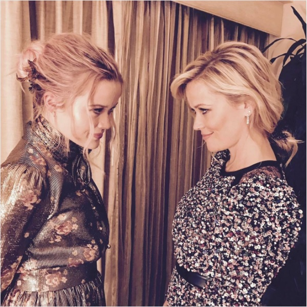 Reese Witherspoon and Ava Phillippe.