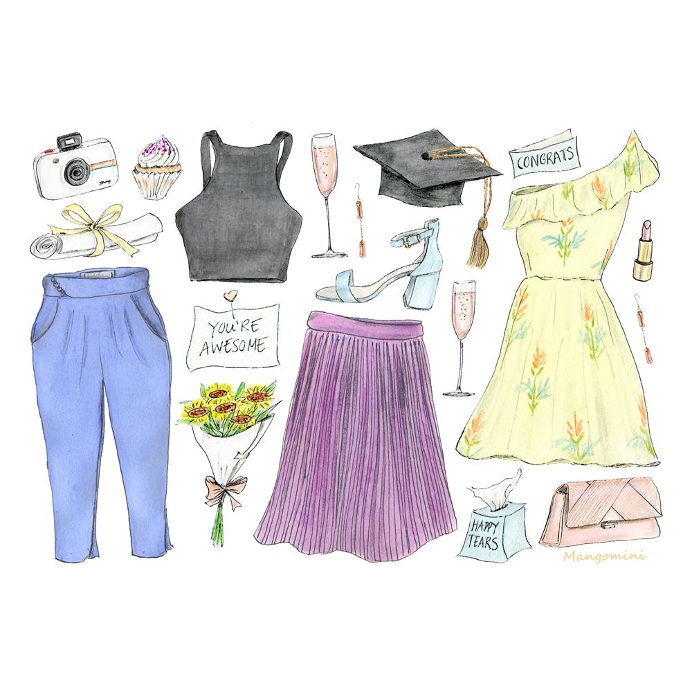 Graduation Day fashion
