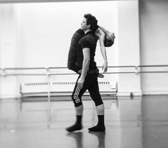 Gray Davis, ballet dancer