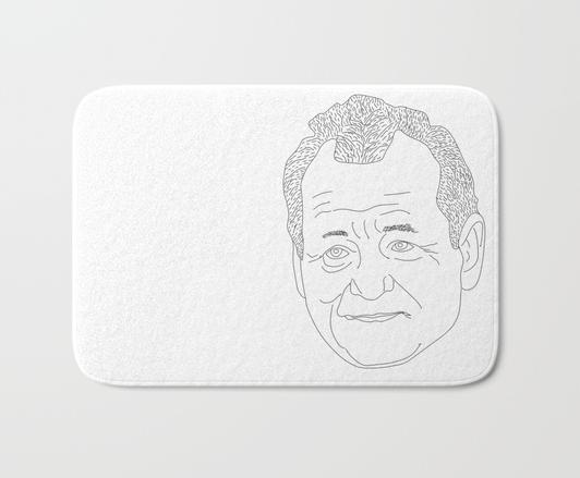 Bill Murray bath mat