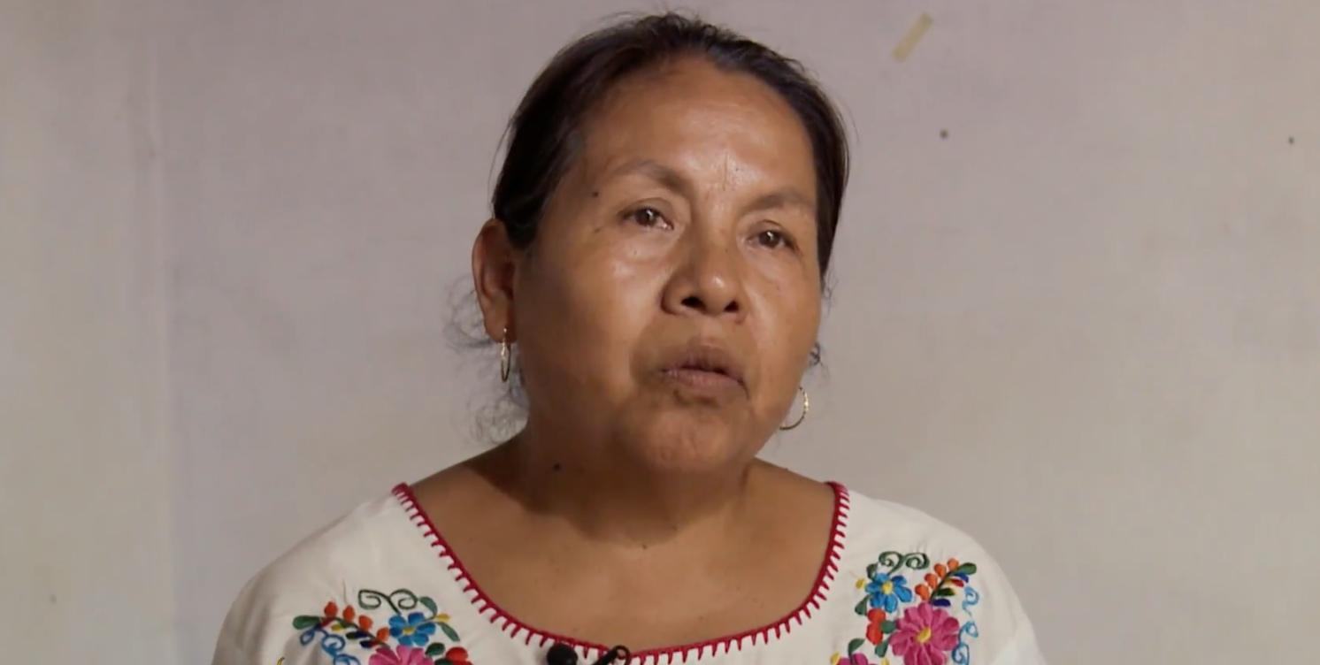 Mexico presidential candidate Maria de Jesus Patricio Martinez