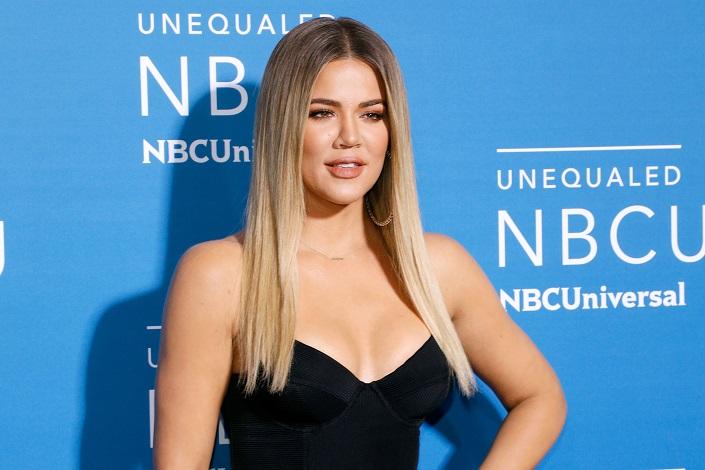 Khloe Kardashian at NBCUniversal upfront