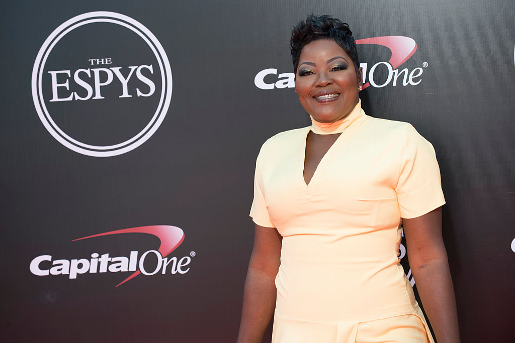WANDA DURANT THE 2016 ESPYS - Arrivals - On July 13, some of the worlds premier athletes and biggest stars join host John Cena on stage for The 2016 ESPYS Presented by Capital One. The 24th annual celebration of the best moments from the year in sports will be televised live from the Microsoft Theater on Wednesday, July 13 (8:00-11:00 p.m. EDT), on ABC. (Photo by Image Group LA/ABC via Getty Images)