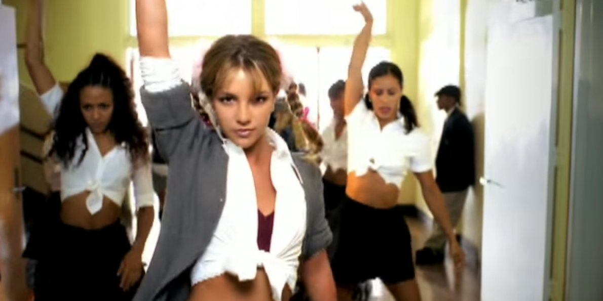 "Britney Spears ""Hit Me Baby One More Time"""