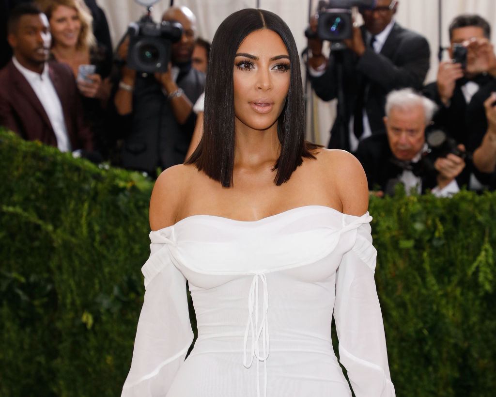 "Kim Kardashian attends ""Rei Kawakubo/Commes Des Garcons: Art of the In-Between"", the 2017 Costume Institute Benefit at Metropolitan Museum of Art on May 1, 2017 in New York City."
