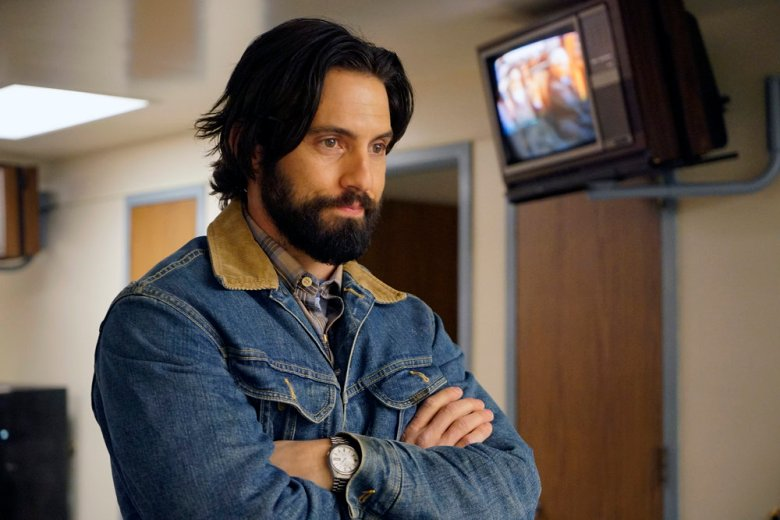 """Milo Ventimiglia in a still from """"This Is Us"""""""