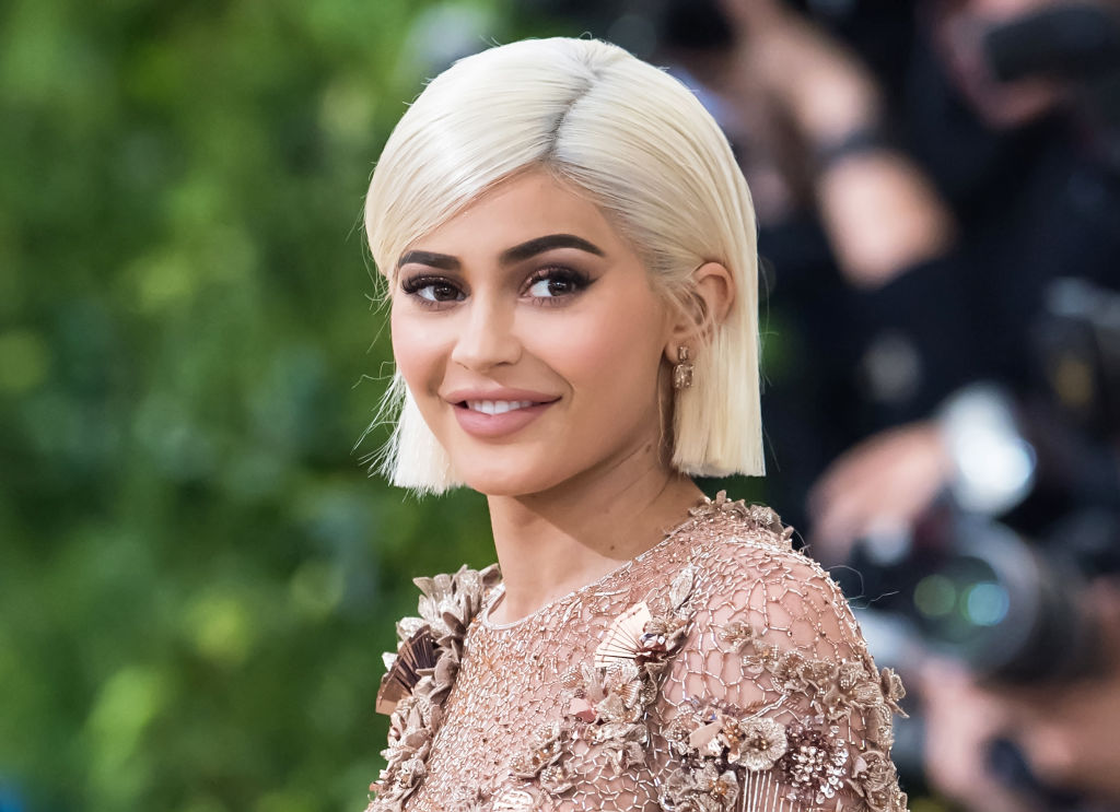 Kylie Jenner is seen at the 'Rei Kawakubo/Comme des Garcons: Art Of The In-Between' Costume Institute Gala at Metropolitan Museum of Art on May 1, 2017 in New York City.