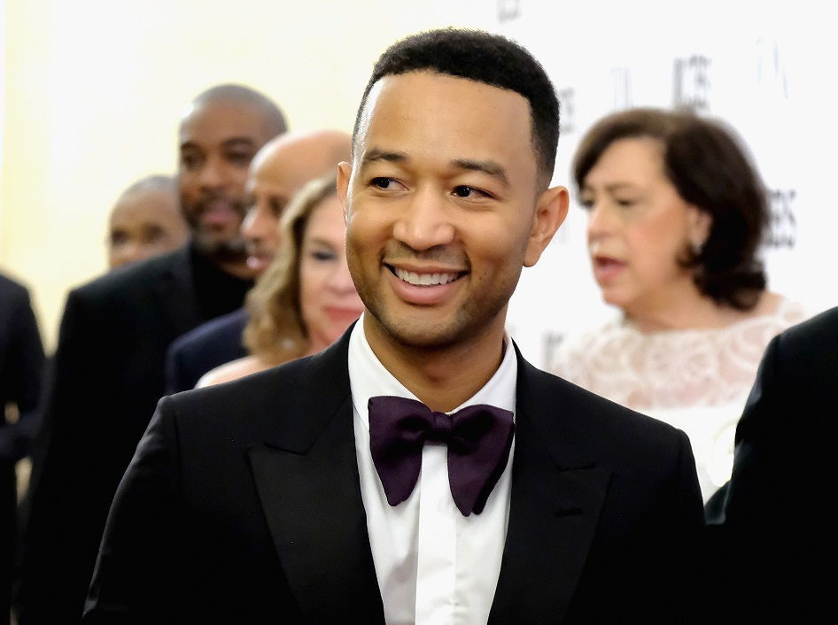 John Legend attends the 2017 Tony Awards