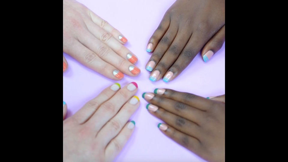 French Manicure Hacks