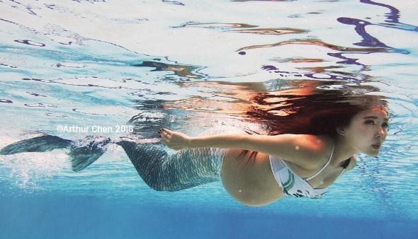 maternity mermaid