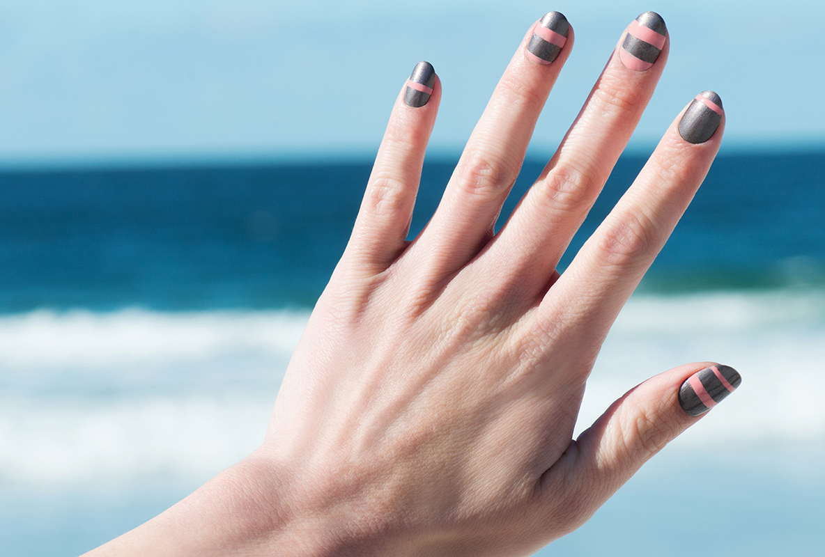Picture of OPI Striped Manicure