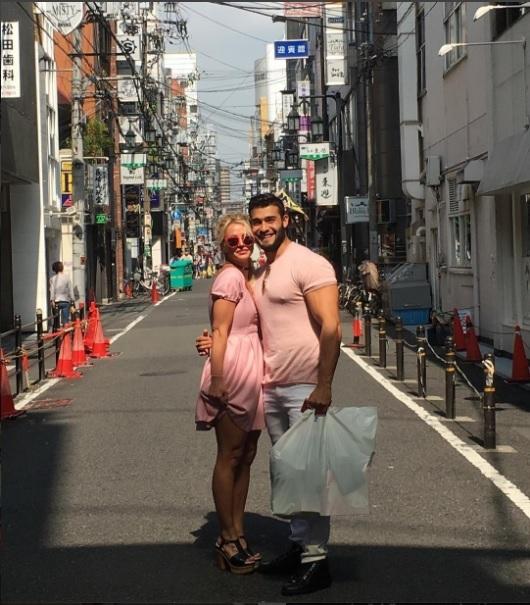 Britney Spears and Sam Asghari visit Japan