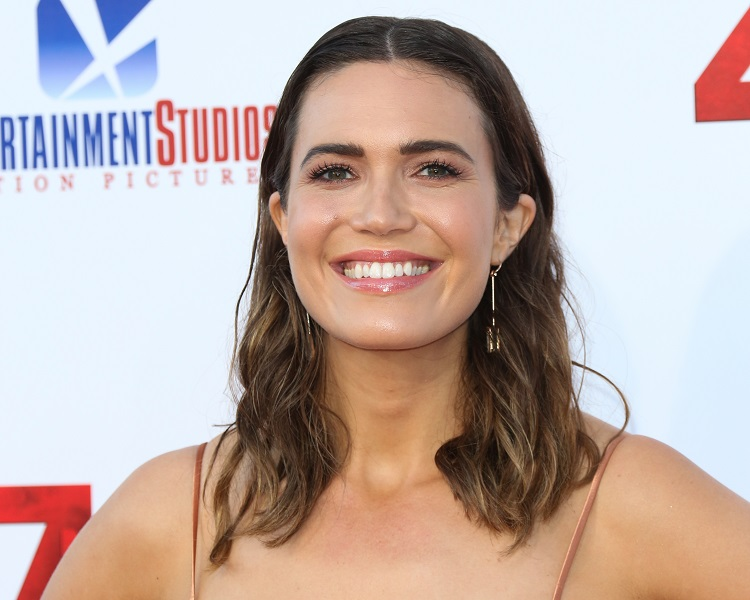 """Mandy Moore attends the premiere of """"47 Meters Down"""""""