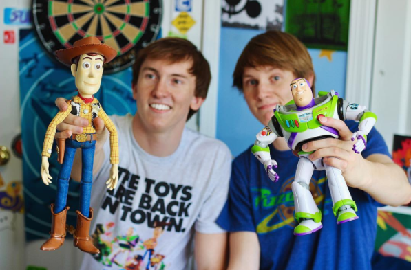 These bros live Pixar.
