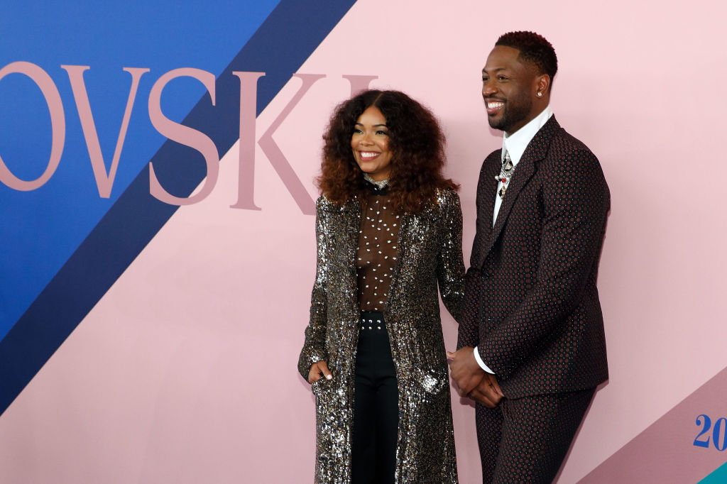 NEW YORK, NY - JUNE 05: Gabrielle Union and Dwyane Wade attend the 2017 CFDA Fashion Awards at Hammerstein Ballroom on June 5, 2017 in New York City. (Photo by Taylor Hill/FilmMagic)