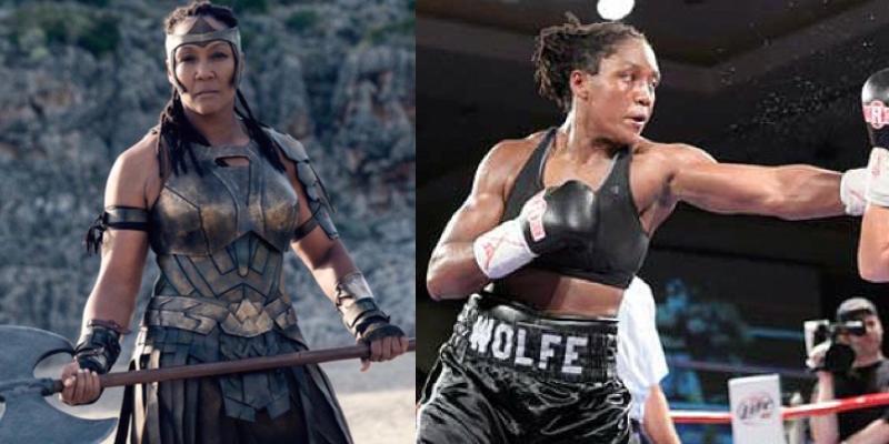 Ann Wolfe boxer Wonder Woman