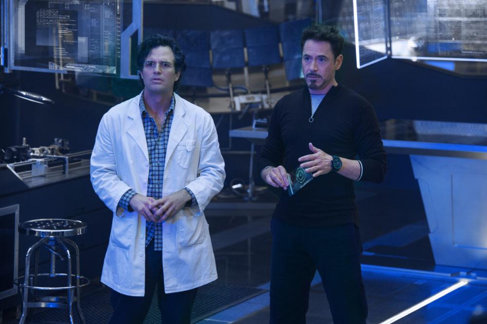 Avengers Mark Ruffalo Robert Downey Jr.