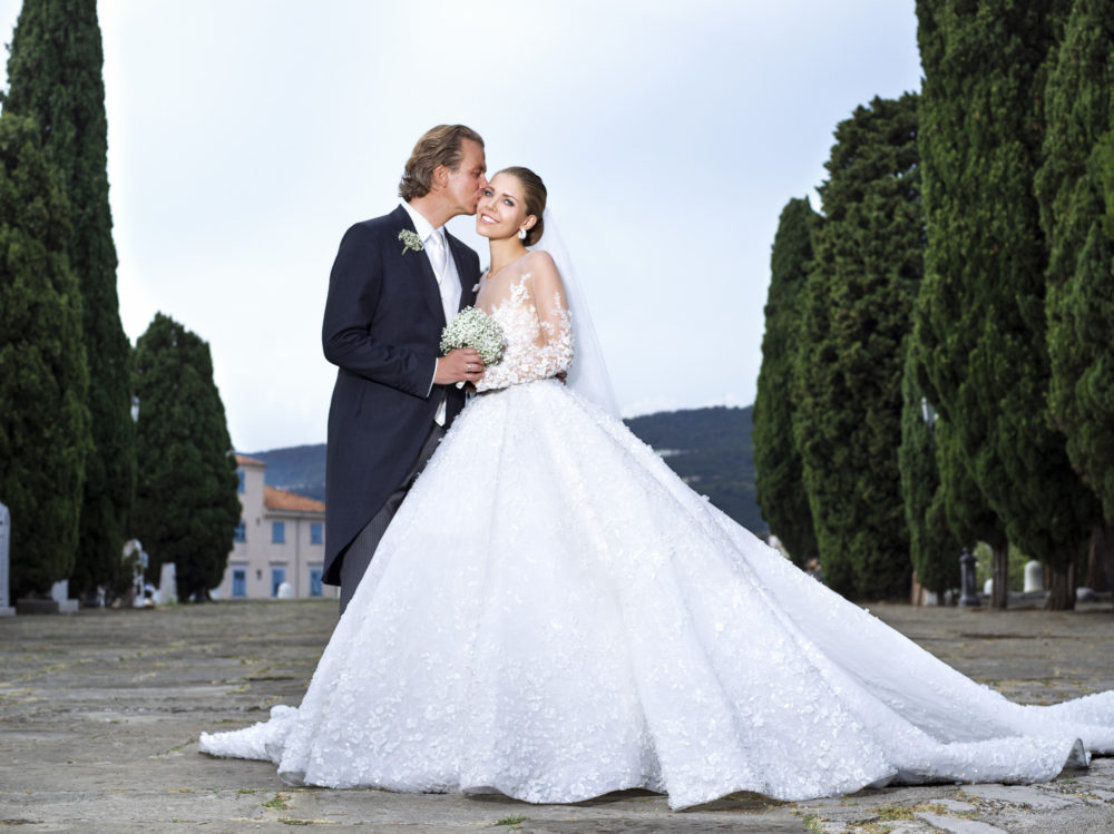 Victoria Swarovski And Werner Muerz Get Married In Trieste
