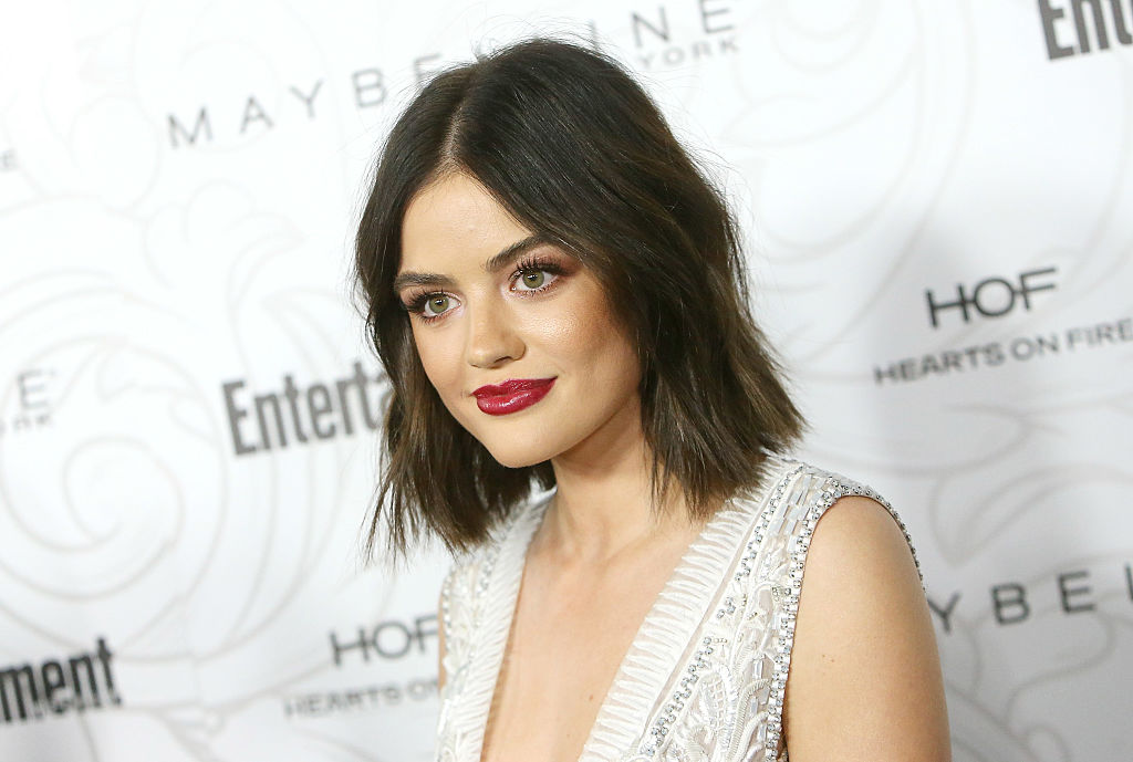 Lucy Hale arrives at the Entertainment Weekly hosts celebration honoring nominees for The Screen Actors Guild Awards held at Chateau Marmont on January 28, 2017 in Los Angeles