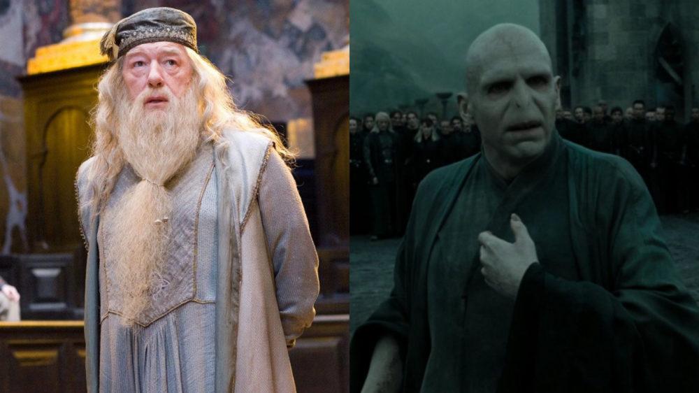 Harry Potter Dumbledore Voldemort