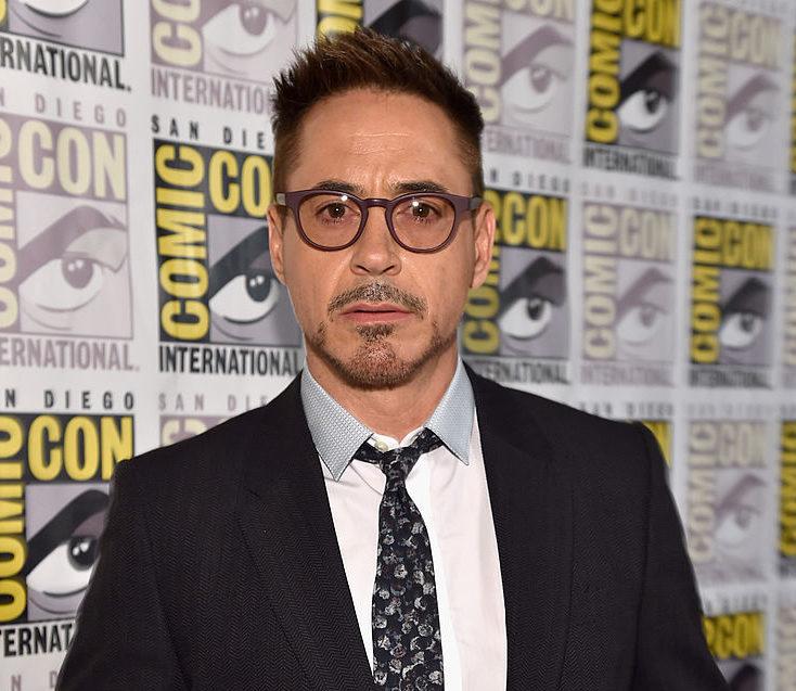Robert Downey Jr at Comic Con.