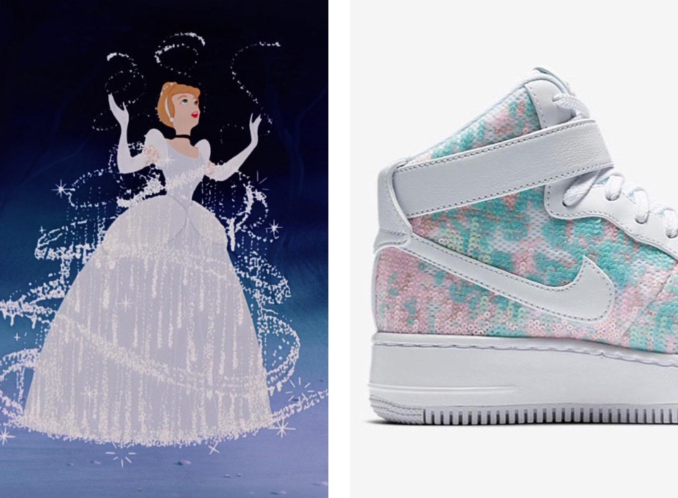 Nike Cinderella sneaker