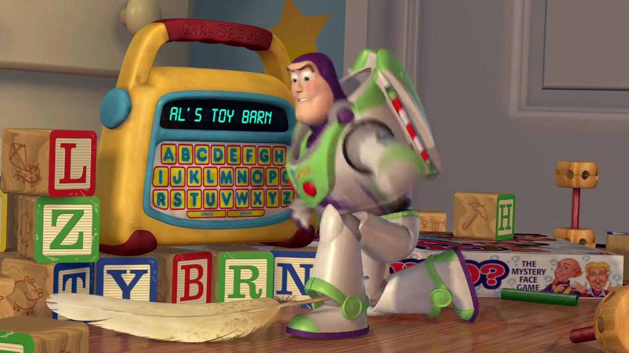 "Al's Toy Barn ""Toy Story"""