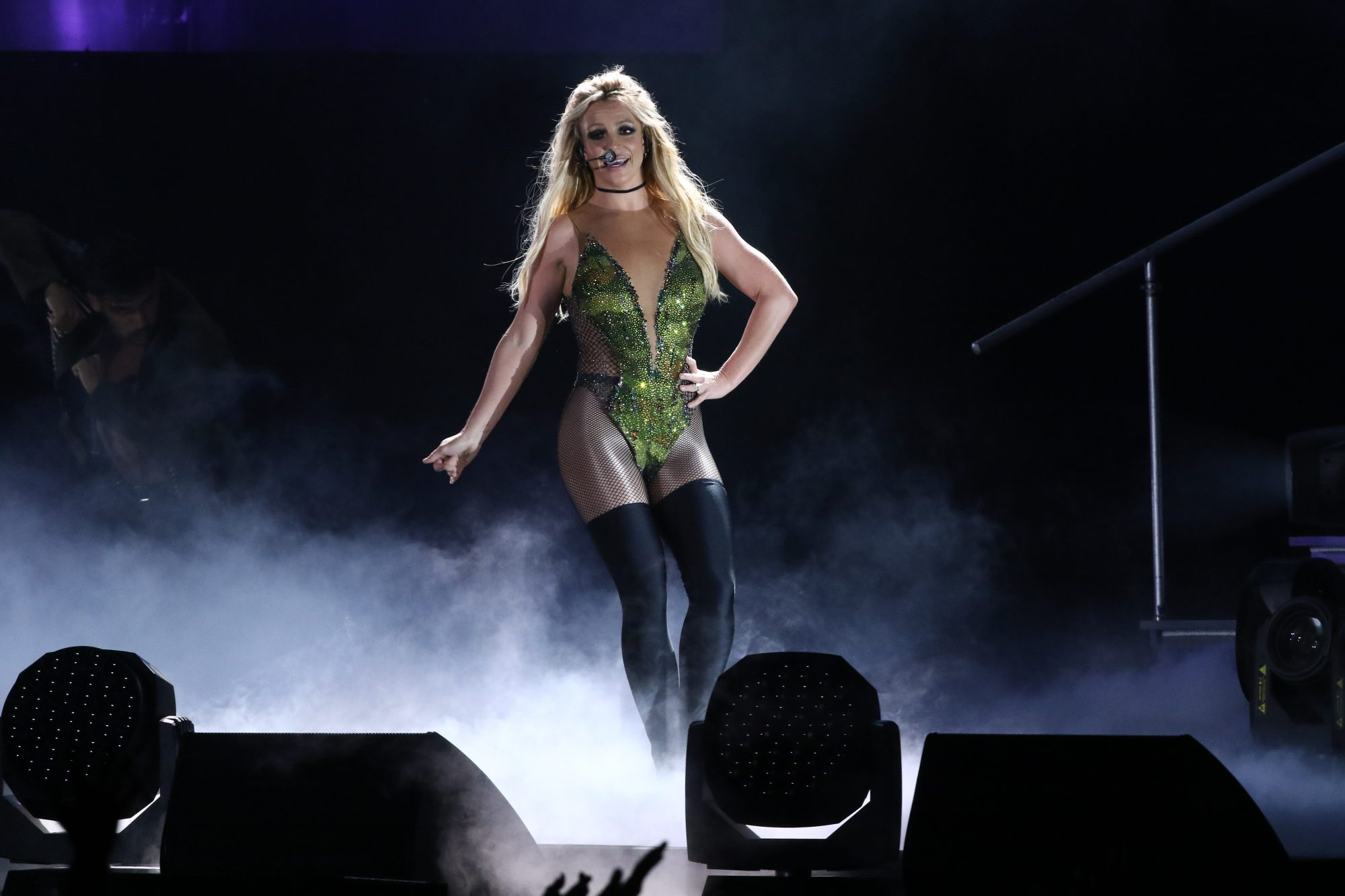 Picture of Britney Spears Taipei Concert