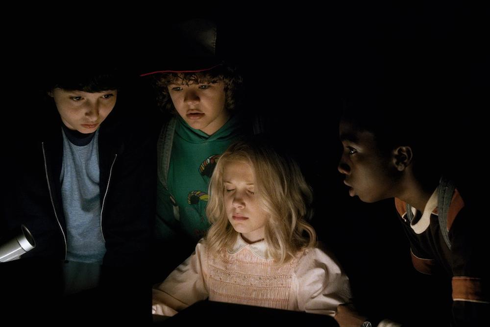 """A scene from Netflix's """"Stranger Things"""""""