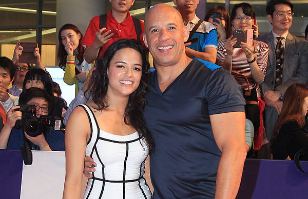 Fast and Furious Michelle Rodriguez Vin Diesel