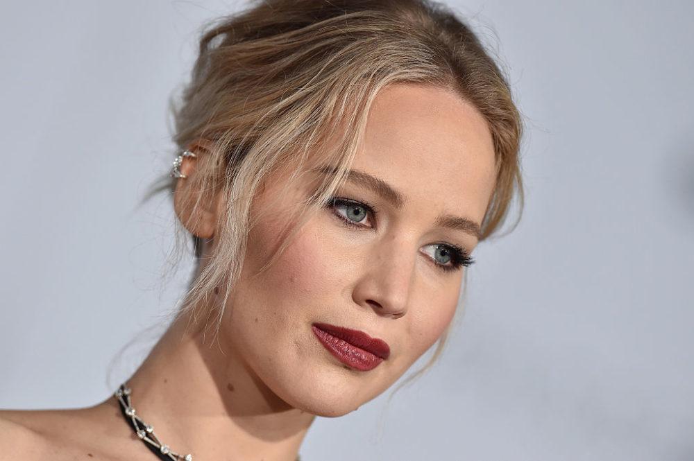 Jennifer Lawrence at Passengers premiere.