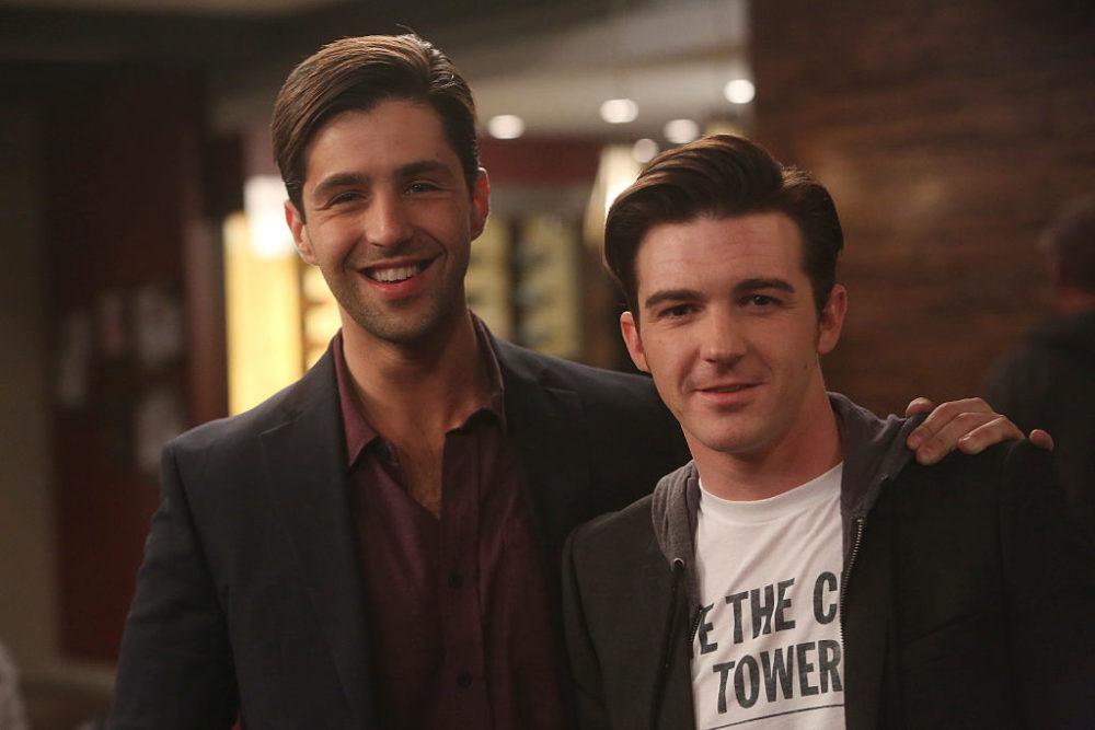 Josh Peck and Drake Bell.