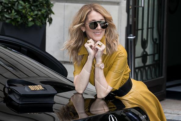 PARIS, FRANCE - JULY 03: Singer Celine Dion is seen on July 3, 2017 in Paris, France. (Photo by Marc Piasecki/GC Images)