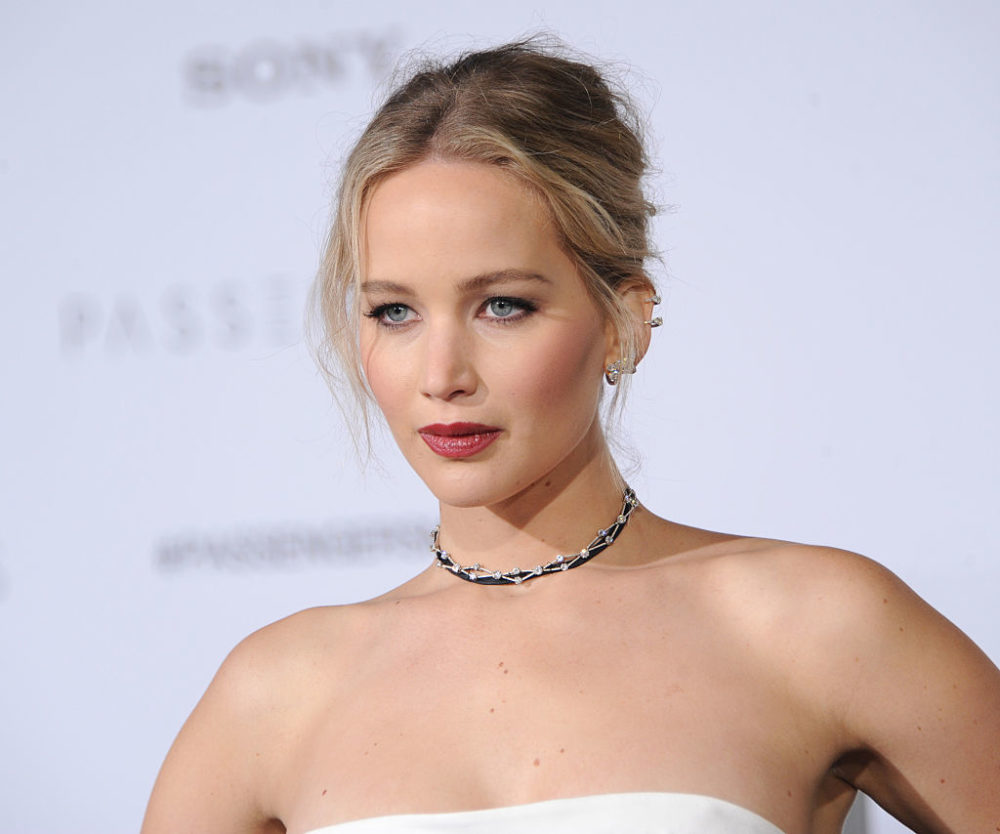 Jennifer Lawrence Dior dress