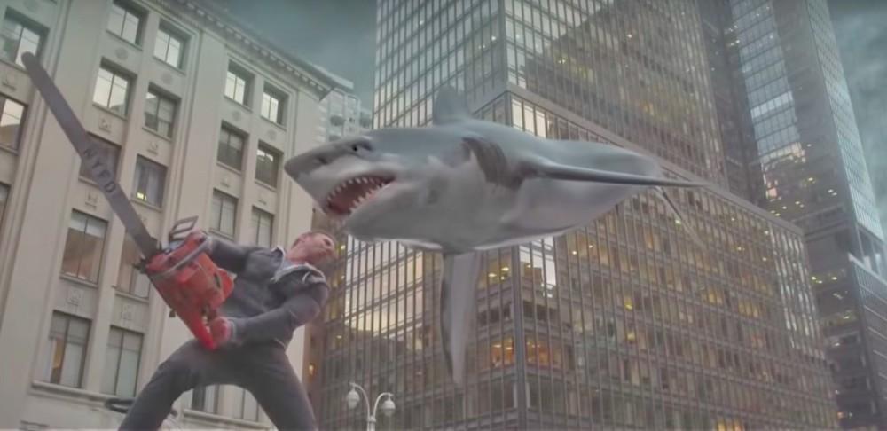 Still of Ian Ziering Sharknado 5.