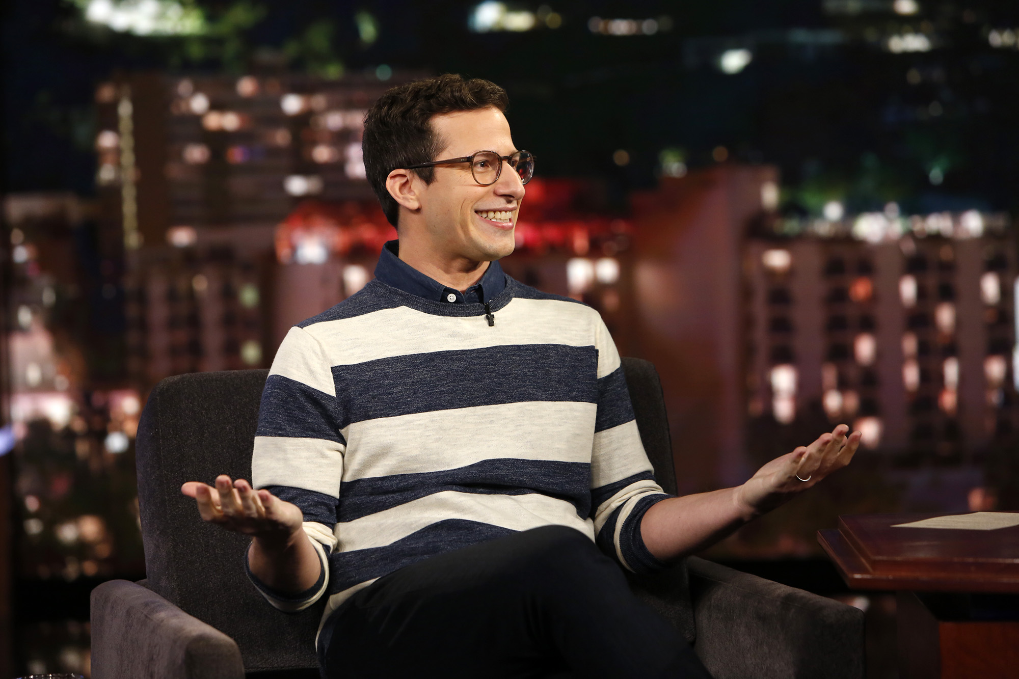 Picture of Andy Samberg Late Night