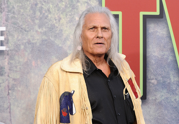 "Actor Michael Horse attends the premiere of ""Twin Peaks"" at Ace Hotel on May 19, 2017 in Los Angeles, California. (Photo by Jason LaVeris/FilmMagic)"
