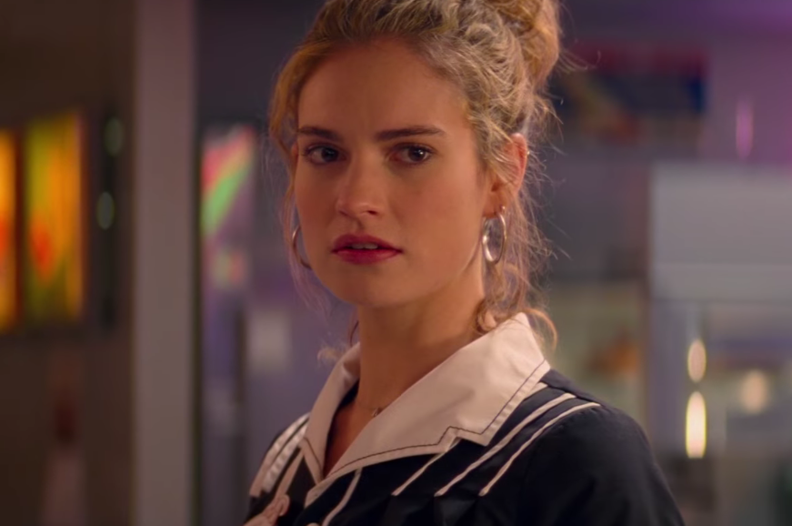 Baby Driver Lily James