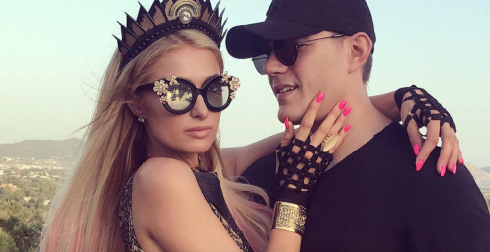 Paris Hilton and boyfriend Chris Zylka